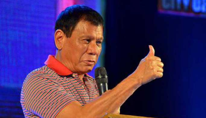 Duterte'den ABD'ye bir şok daha