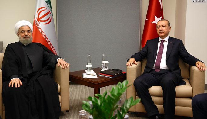 Erdoğan, ABD'de Ruhani ile görüştü