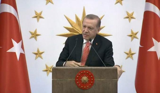 Erdoğan, Beştepe'de valilere seslendi