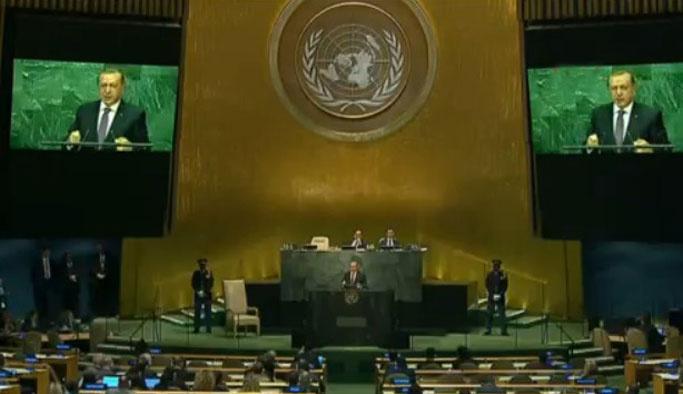 Erdoğan BM'den seslendi: Dünya beşten büyüktür