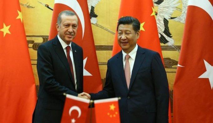 Erdoğan-Cinping görüşmesi
