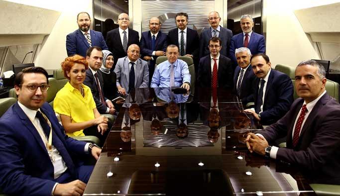 Erdoğan da cadı avından şikayetçi