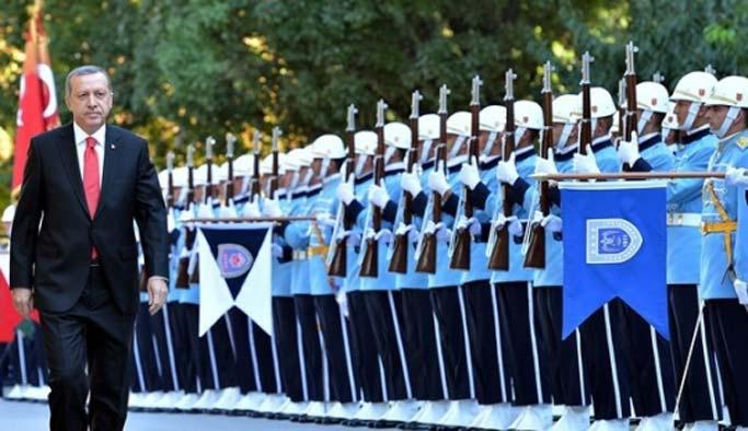 Erdoğan'ı Meclis'te askerler karşılayacak