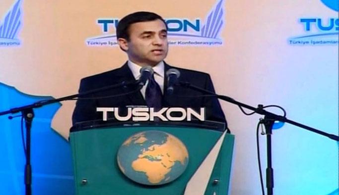 Erdoğan'ı tehdit eden TUSKON başkanı Tayvan'da çıktı
