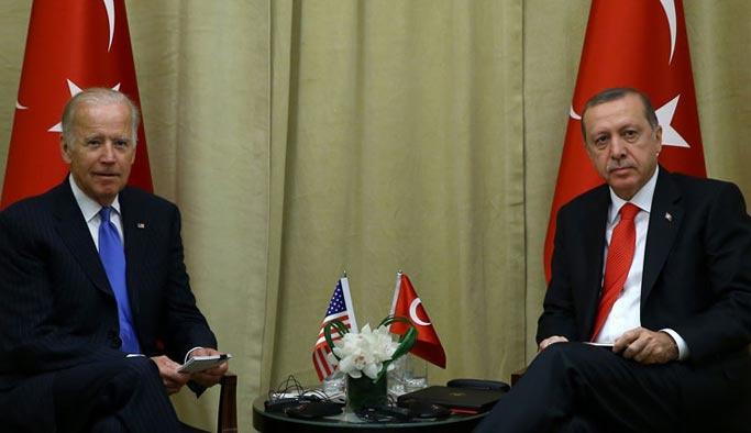 Erdoğan, Obama'nın yardımcısı Biden ile görüştü
