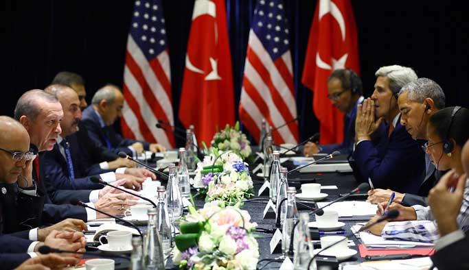 Erdoğan, Obama'nın yüzüne söyledi