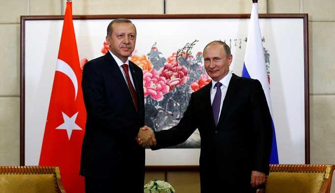 Erdoğan ile Putin yaklaşık 2 saat görüştü