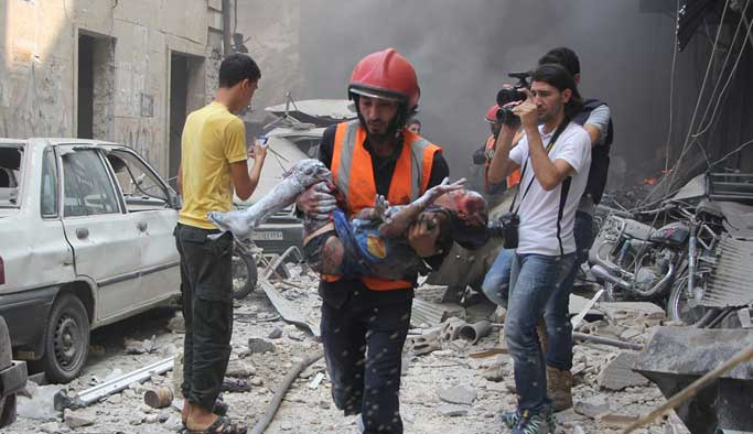 Suriye rejimi ateşkesi 28 kez ihlal etti