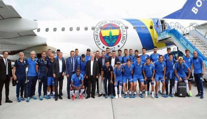 Fenerbahçe kafilesi UEFA maçı için Odessa'da