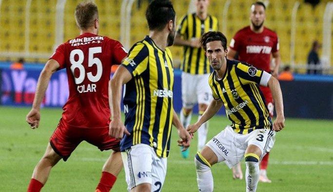 Fenerbahçe, sahasında Gaziantepspor'u 2-1 yendi