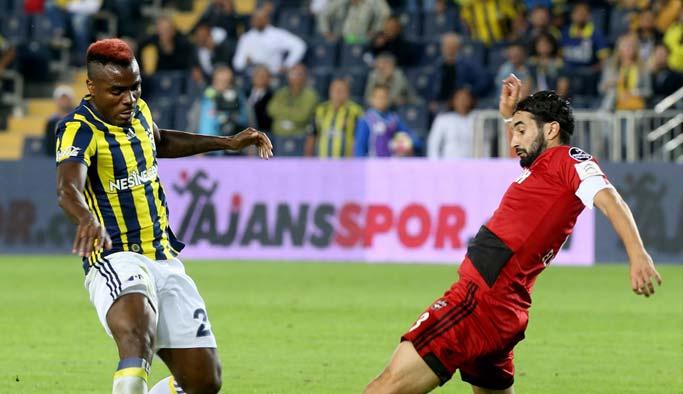 Fenerbahçe, sahasında ilk kez kazandı