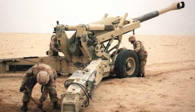 Fransa'dan Irak'a topçu bataryası