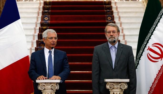 Fransa Meclis Başkanı Bartolone İran'da