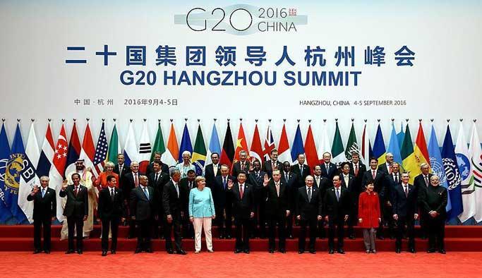 G20 Liderler Zirvesi aile fotoğrafıyla başladı