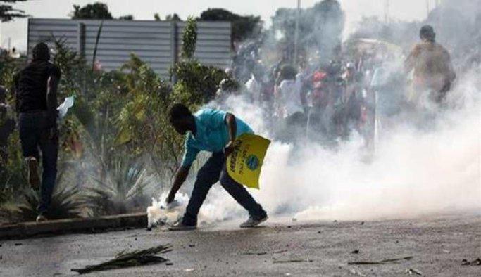 Gabon'daki şiddet olayları
