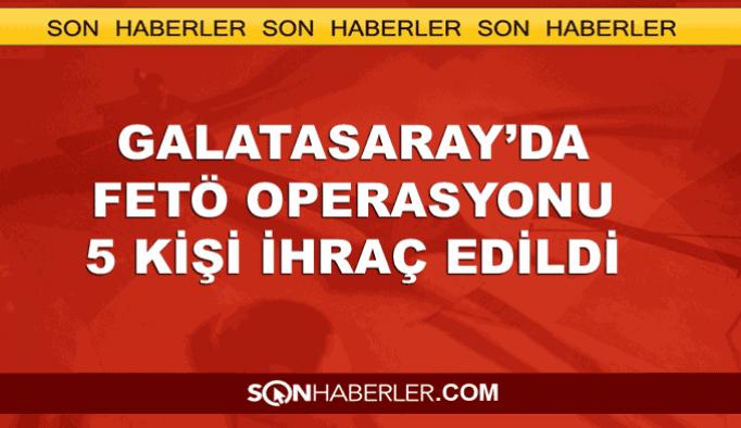Galatasaray'da FETÖ operasyonu: 5 ihraç