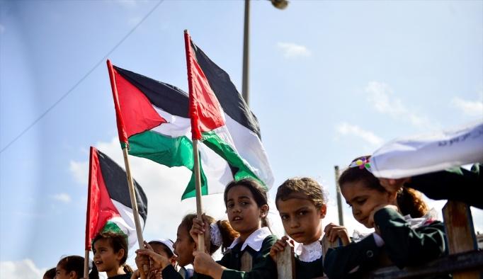 """Gazze yolundaki """"Özgürlük Filosu""""na destek"""