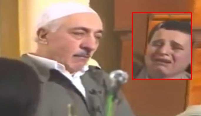 Gülen'e yelpaze tutan kişi gözaltında