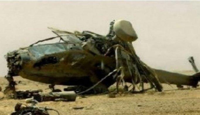 Güney Kore'de askeri helikopter düştü