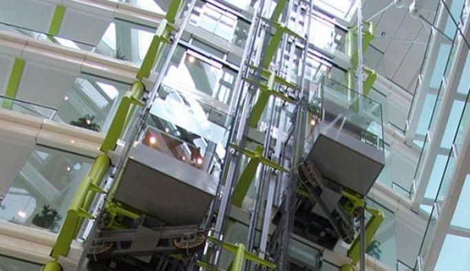 Güney Kore'nin 'en hızlı' asansörü