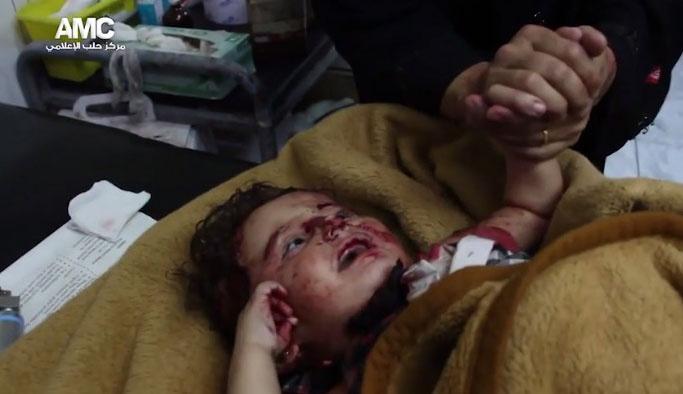 Halep'te ateşkese rağmen sivillere saldırı