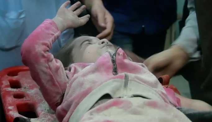 Halep'te bir haftada 96 çocuk katledildi