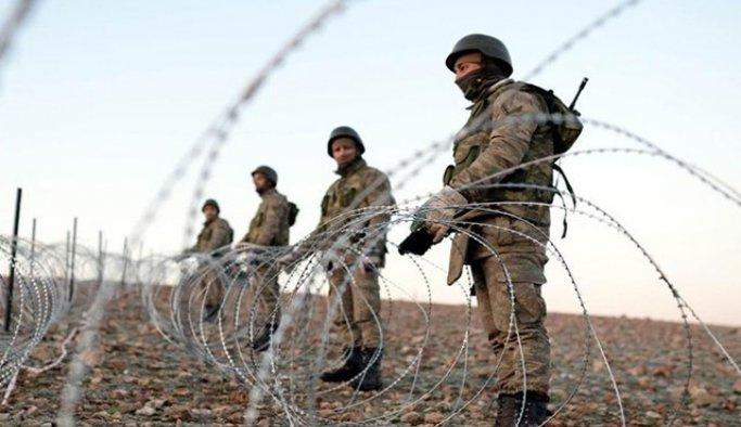 Hatay sınırında 55 Iraklı yakalandı