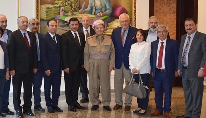 HDP, Barzani'nin 'bir abi olarak' devreye girmesini istedi