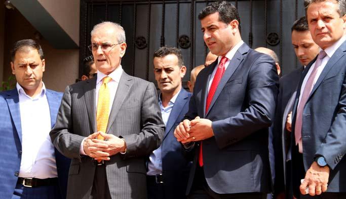 HDP heyeti Kerkük'te ziyaretlerde bulundu