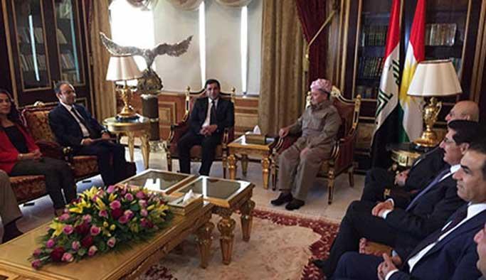 HDP heyetin Barzani ile görüştü