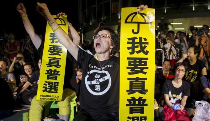 Hong Kong'daki konsey seçiminde aday sayısı 30'a yükseldi