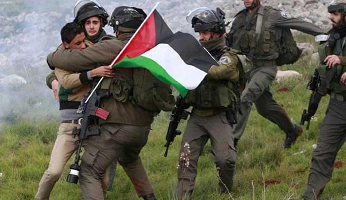 İsrail bugün de Filistinli kız çocuğunu vurdu