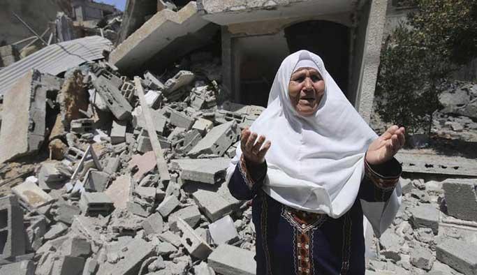 İsrail'in evlerini yıktığı 65 bin kişi hala evsiz