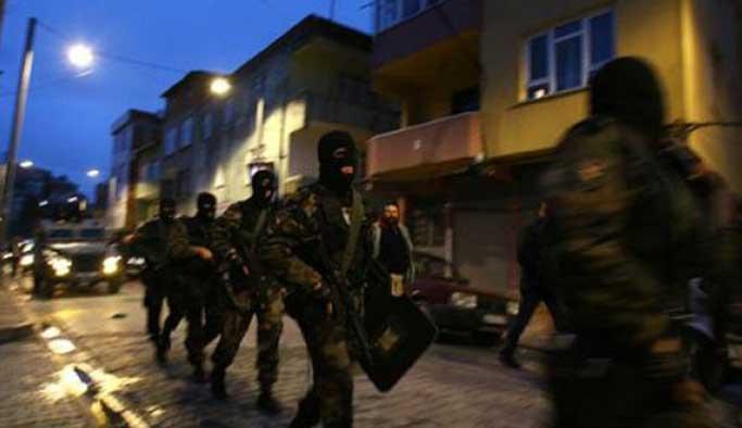İstanbul'da beş ilçede IŞİD'e operasyon