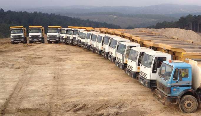 İstanbul'da çalışacak 1500 kamyoncu aranıyor