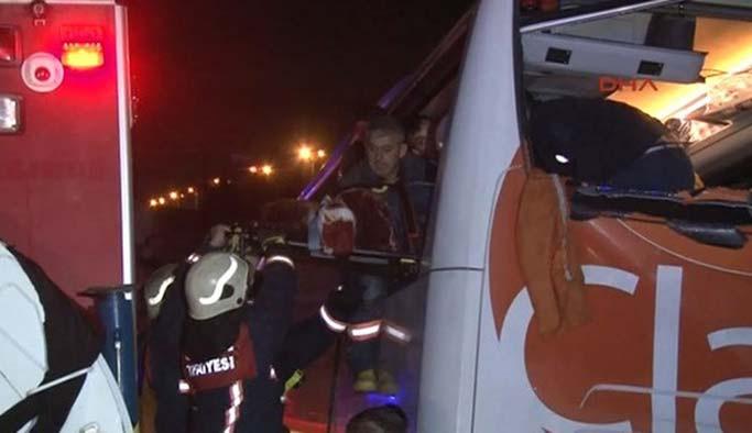 İstanbul Otogar'da kaza: 1 ölü, 2 yaralı