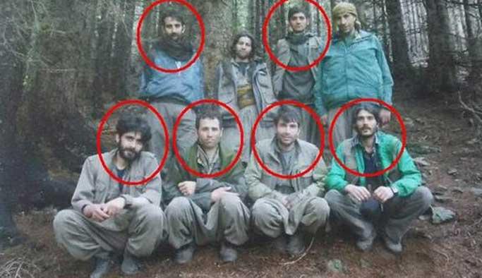 İşte Karadeniz'de öldürülen o teröristler