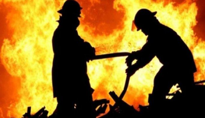 İzmir'de yangın: 1 ölü