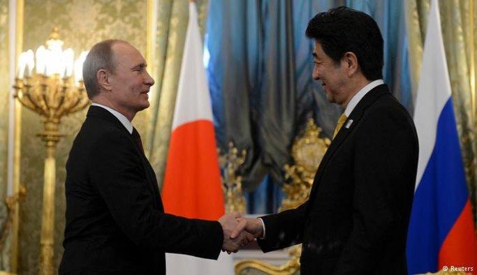 Japonya Başbakanı Abe Rusya'da