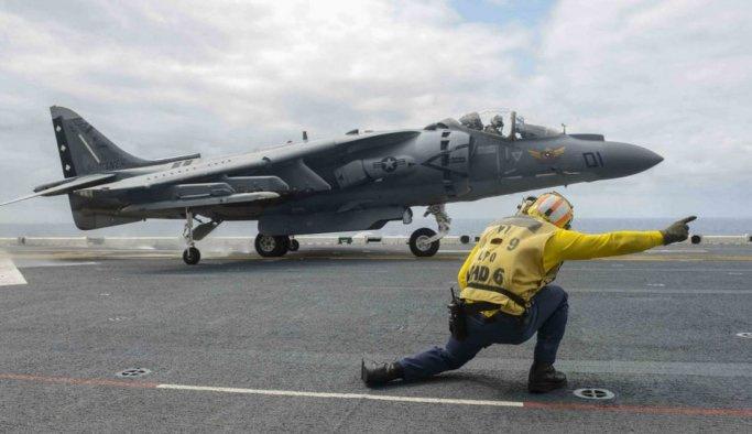Japonya'da ABD uçağı düştü