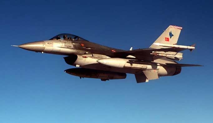 Jetler Dağlıca'da 7 terörist öldürdü