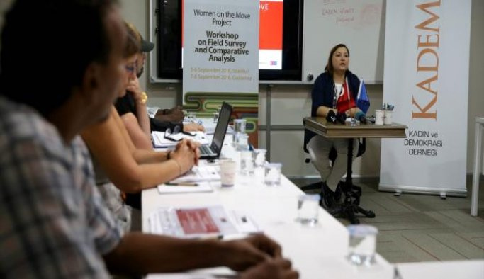 'Kadınlar Göç Yolunda' Projesi