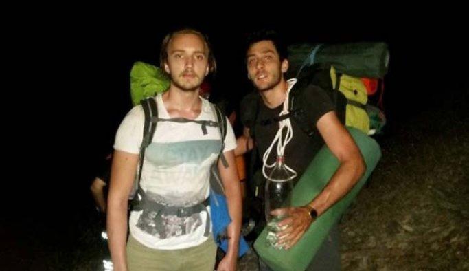 Kazdağları'nda mahsur kalan dağcılar kurtarıldı