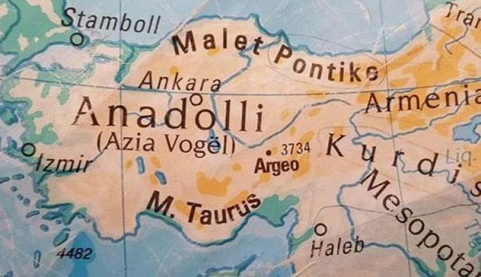 Kosova'dan 'Türkiye'yi bölen harita' açıklaması