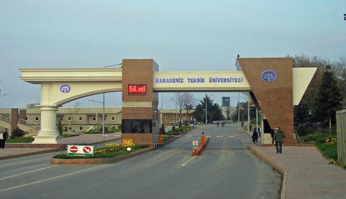 KTÜ'de görevli 7 araştırma görevlisi gözaltına alındı