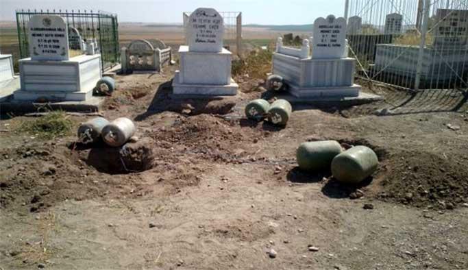 Mehdi Eker, katliam planlanan mezarlıktaydı