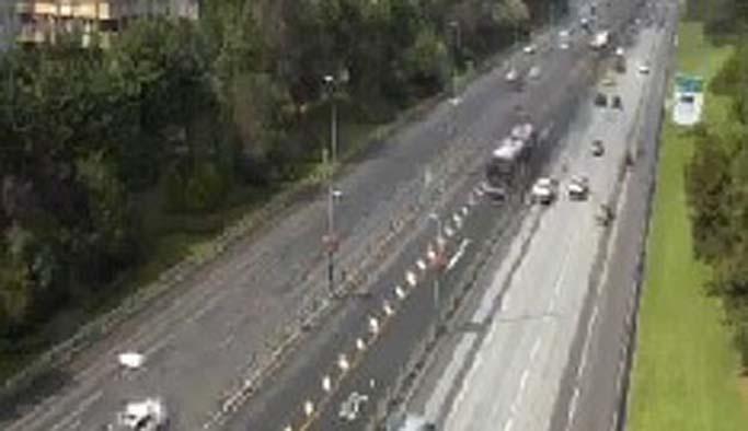 Metrobüs kazası sonrası trafik normale döndü