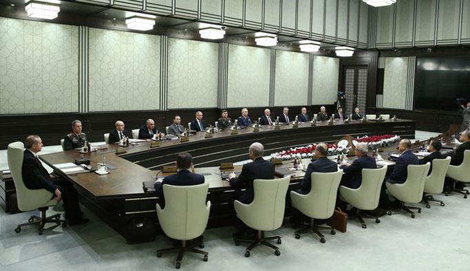MGK, Suriye, PKK ve FETÖ gündemiyle toplandı