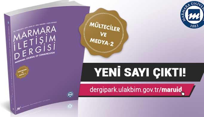 Mülteciler meselesi Marmara İletişim Dergisi'nde
