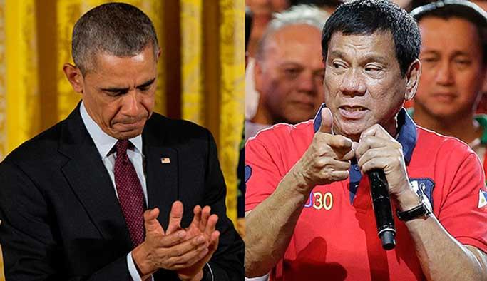 Obama, kendisine küfreden Duterte ile randevuyu iptal etti